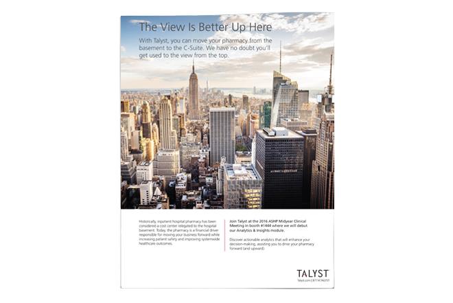 Talyst Autopharm Analytics Ad
