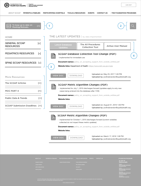 scoap-member-dashboard-page-wireframe